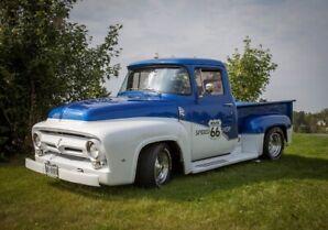 1956 Ford F100 Fat Fender Custom pick up truck