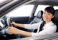 Private Driving Lesson - 7 Days a week  (English & French)