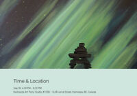 Glow in the dark  Inuksuk Sept 30