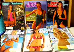 Sports Illustrated Lot #1 Older Swimsuit Issues