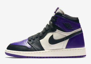 Air Jordan 1 Court Purple Size 12 DS