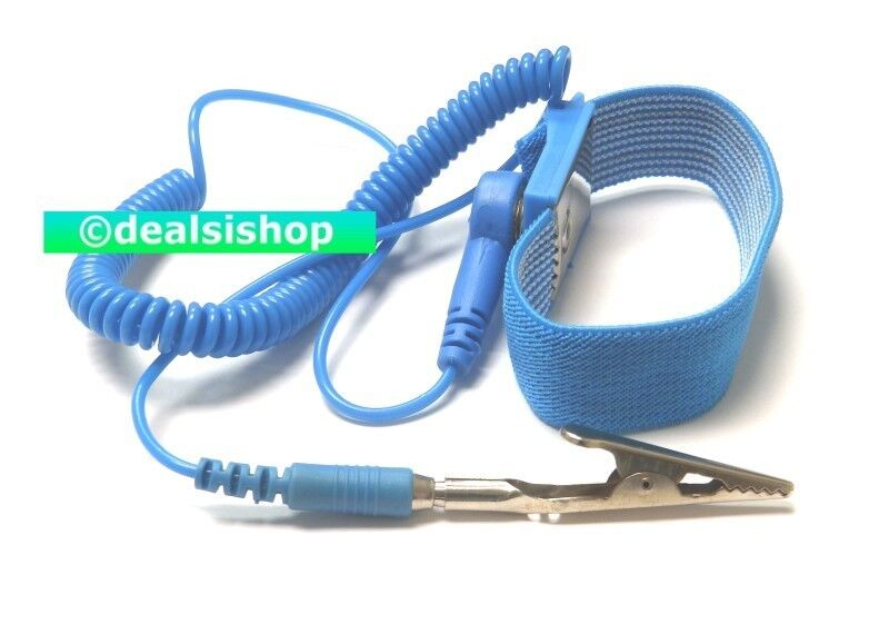 Anti-Static Wrist Band Strap Discharge Grounding Wire ESD Prevents Static Shock