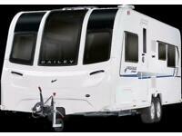 Brand New 2021 Bailey Pegasus Grande SE Turin 6 Berth Caravan - Limited Stock