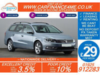 2012 VW PASSAT 2.0 TDI TECH S GOOD / BAD CREDIT CAR FINANCE FROM 29 P/WK