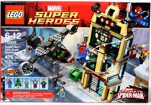 NEW LEGO SPIDER-MAN SET 76005 DAILY BUGLE SHOWDOWN DR. DOOM
