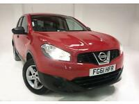 2011 61 NISSAN QASHQAI+2 1.6 VISIA IS PLUS 2 5D 117 BHP 7 SEATER