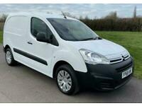 2018 Citroen Berlingo Enterprise 1.6HDi 850kg L1 Euro 6 White Van 25,550 Miles