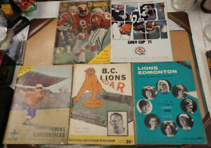 1950s to 1970s CFL Programs