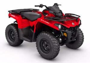 2017 Can am Outlander L 450 / Brand New