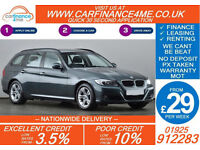 2011 BMW 320D 2.0 TOURING ES GOOD / BAD CREDIT CAR FINANCE FROM 29 P/WK