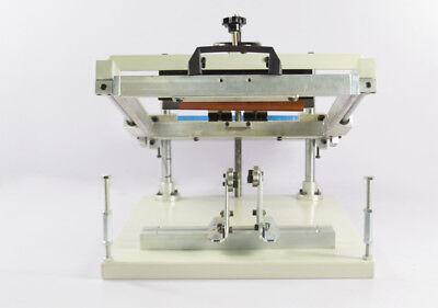 1 Color Manual Cylinder Screen Printing Press Machine Silk Screen Shirt Printer