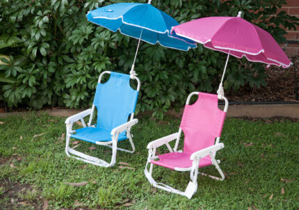 Beach umbrella and chair for kids North Sydney North Sydney Area Preview