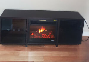 T.V.Stand /Electric Fire
