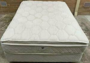 Excellent double bed set (Pillow Top mattress). Pick up or deliver