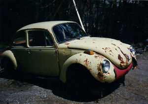 Wanted, Old VW bug.looking for part bug and any parts