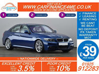 2010 BMW 320D 2.0 TD M-SPORT GOOD / BAD CREDIT CAR FINANCE FROM 39 P/WK