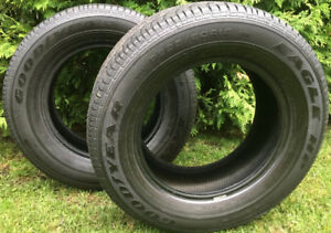 2 Pneu d'été GoodYear Eagle HP P225/60R15 summer tires