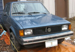 1981 Volkswagen Rabbit 2 Dr Coupe - Project