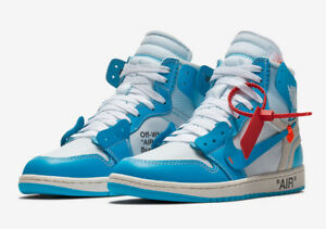 "DS The OFF WHITE x Air Jordan 1 ""UNC"""