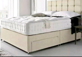 🌟SALE 50%🌟 FULL DIVAN BED SET–QUALITY COMFORT PRICE GUARENTEED🌟