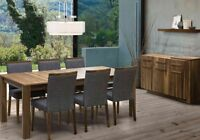 DINING TABLE IN NATURAL WOOD MADE IN CANADA STARTING FROM 599$