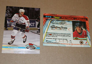Topps Stadium 1991-92 hockey cards