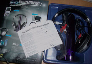 4-in-1 Super Boss Wireless Headphone Cambridge Kitchener Area image 7