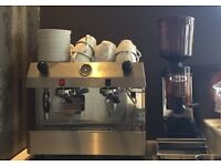 Fracino Coffee Machine & Fracino Grinder & Knock Out Box