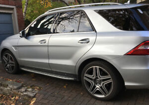 2013 Mercedes-Benz M-Class AMG ML63 SUV, Crossover