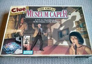 Clue: The Great Museum Caper board game