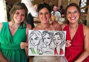 the wedding caricature art and portrait art  West Island Greater Montréal image 9