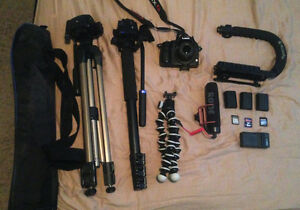 Panasonic GH3 with accessories
