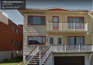 6.5 + 5.5 + 2.5 Renovated Triplex For Rent  - Impeccable !