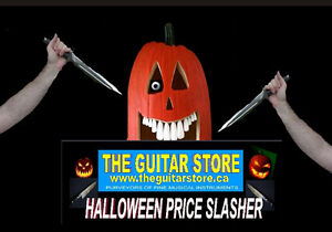Halloween Price Slasher Sale - WWW.THEGUITARSTORE.CA