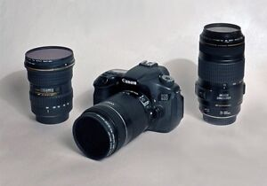 CANON EOS 60D  --  A  COMPLETE  3  LENS  SYSTEM