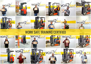 Forklift Training + Certification (Licence) + Jobs from only $75 Peterborough Peterborough Area image 3