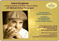 Island Songbook with Michael Pendergast @ Gallery 18 Next Show!