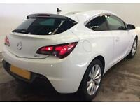 WHITE VAUXHALL GTC 1.4 T LIMITED EDITION SPORT 2.0 CDTI SRI FROM £41 PER WEEK.