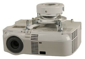 Peerless PRG-UNV-w white video projector mount
