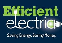 Efficient Electric - keeping you on budget!