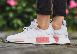 Icey Pink Adidas NMD R1 Primeknit Size 8/8.5