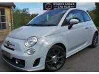 2013 13 ABARTH 500 1.4 C ABARTH 3D 135 BHP - 1 LADY OWNER - S/HIST - BIG SPEC