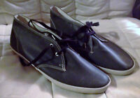 MENS KEDS SHOES - SIZE 11 - BLACK - NEW WITHOUT TAGS SHOCK PROOF