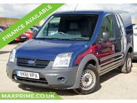 2011 61 FORD TRANSIT CONNECT 1.8 TDCI 1 OWNER + FULL HISTORY + VERY LOW MILEAGE