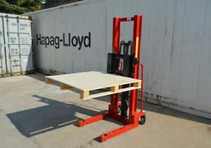 Manual Walkie Stacker Hand Truck Forklift Reach Pallet 4400LB 153163