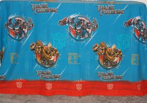 Transformers Revenge of the Fallen Full Flat Bed Sheet 2009 St. John's Newfoundland image 3
