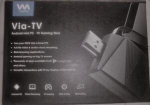 Via-TV Android box - mini pc - TV Gaming stick Kodi 16.2 jarvis