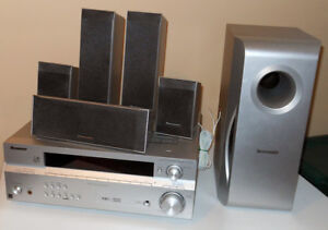 Pioneer SX-316S Home Theater Unit With 6 Panasonic Speakers