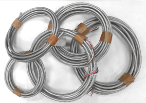 Assorted Electrical Armored Cable