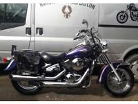EXCELLENT 2004 KAWASAKI VN800 VULCAN CLASSIC SOLO AND DUAL SEAT, 14261 MILES